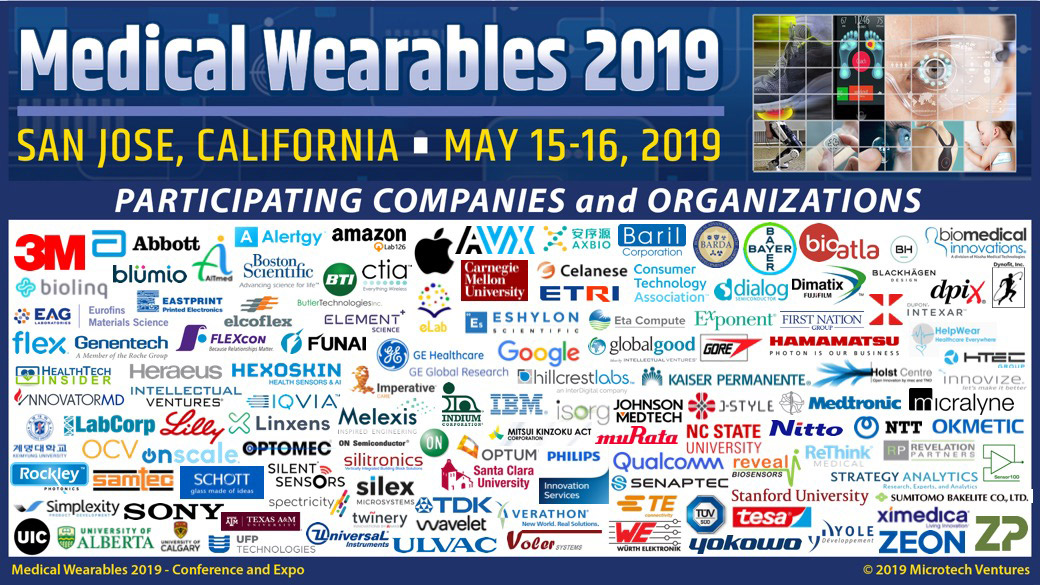 Medical Wearables 2019 – Conference and Expo